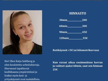 HIERONTAA TMI KATJA SAHLBERG