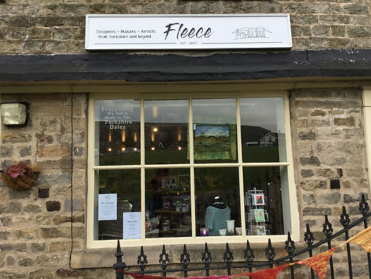 Fleece Arts and Crafts Artists Co-opertive Reeth North Yorkshire