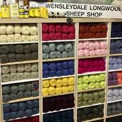 Wensleydale Longwool Sheep Shop