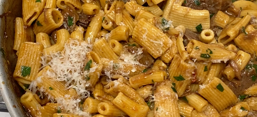 Rigatoni with Braised Short Ribs