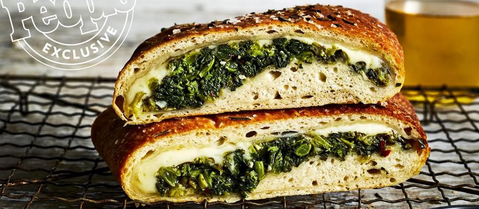 Kale & Broccoli Rabe Stromboli
