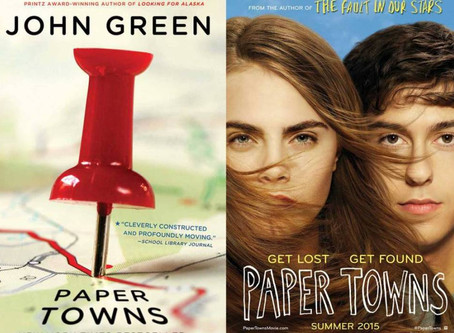 Adaptations! Paper Towns by John Green