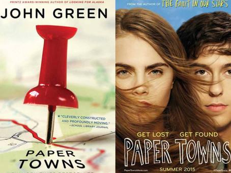 Adaptations! Paper Towns by John Green