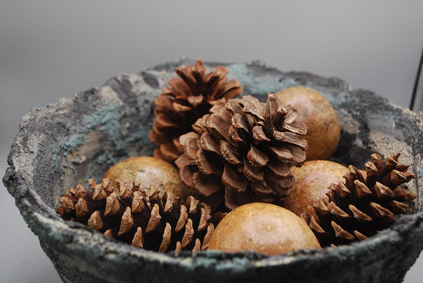 """Rough & Serene"": bowl/decor: 1 piece"
