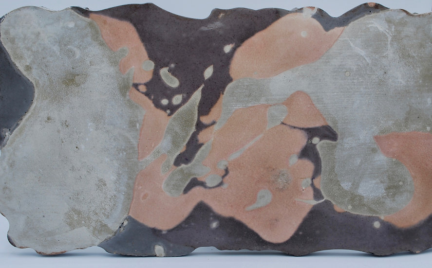 """Fluid""- 1 piece: tray/stand/art piece"