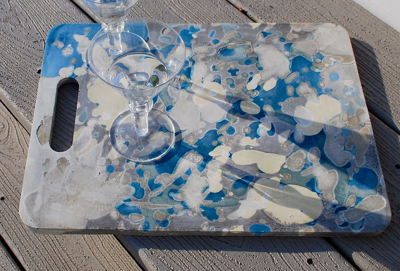 """""""Reflections in the Lake series"""" (large size) : 1 piece-tray/art"""