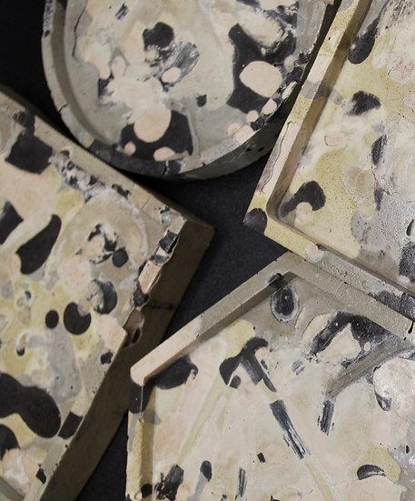 """""""Master series: Pollock coasters""""- 4 pieces"""