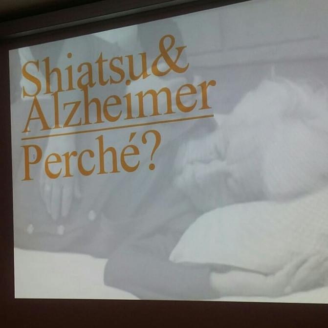 Shiatsu&Alzheimer al Forum della Non Autosufficienza