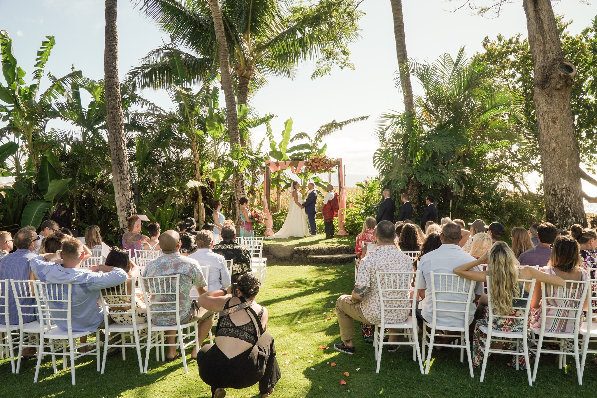 Pinkerton Maui Wedding