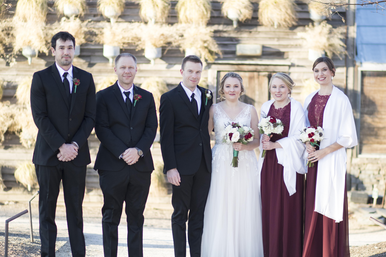 Pinkerton Wedding Party