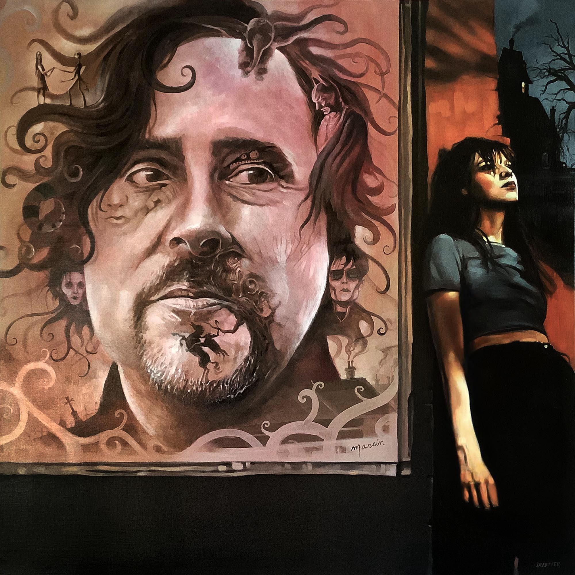 Hommage à Tim Burton, 4 main avec Marcin