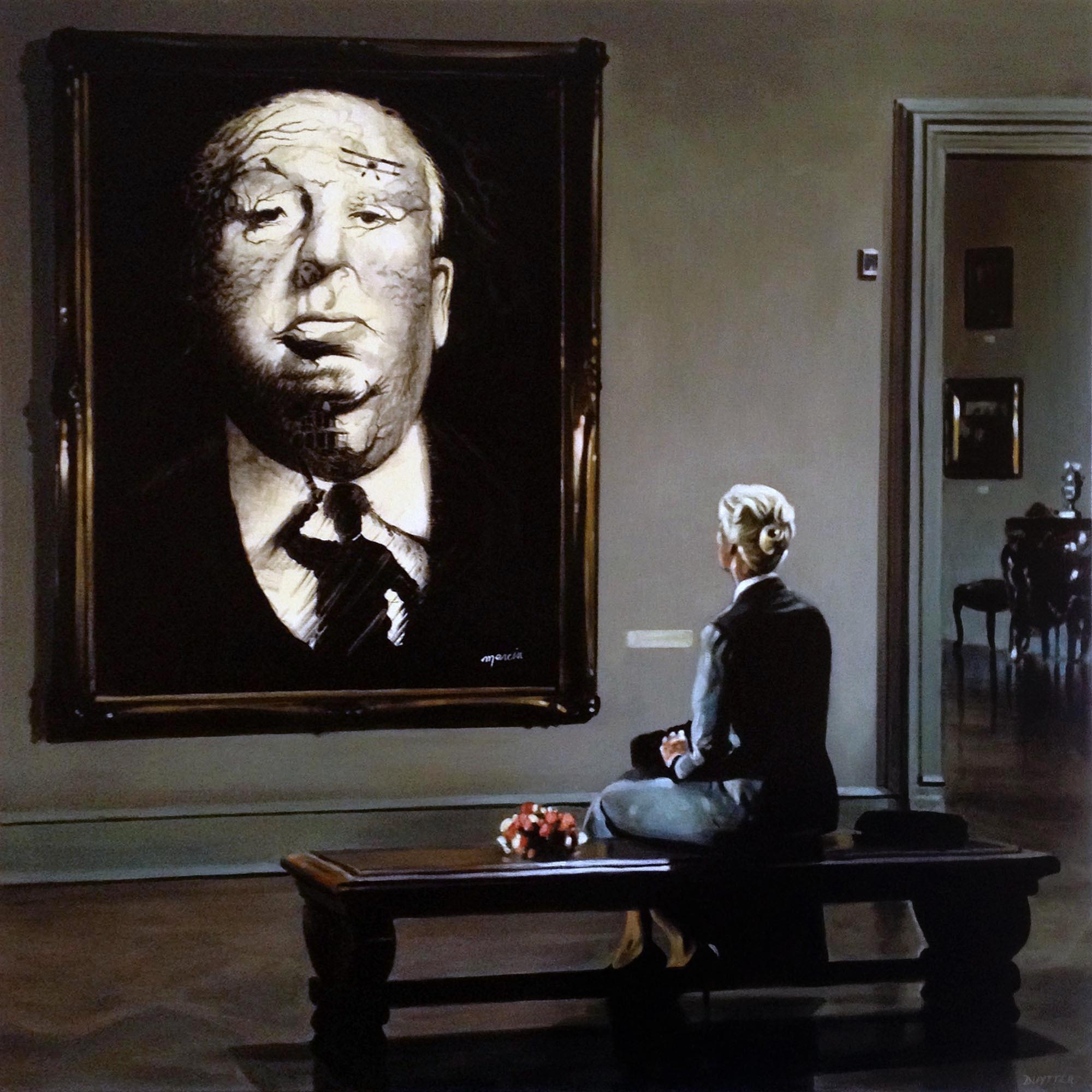 Hommage à Alfred Hitchcock, 4 mains avec