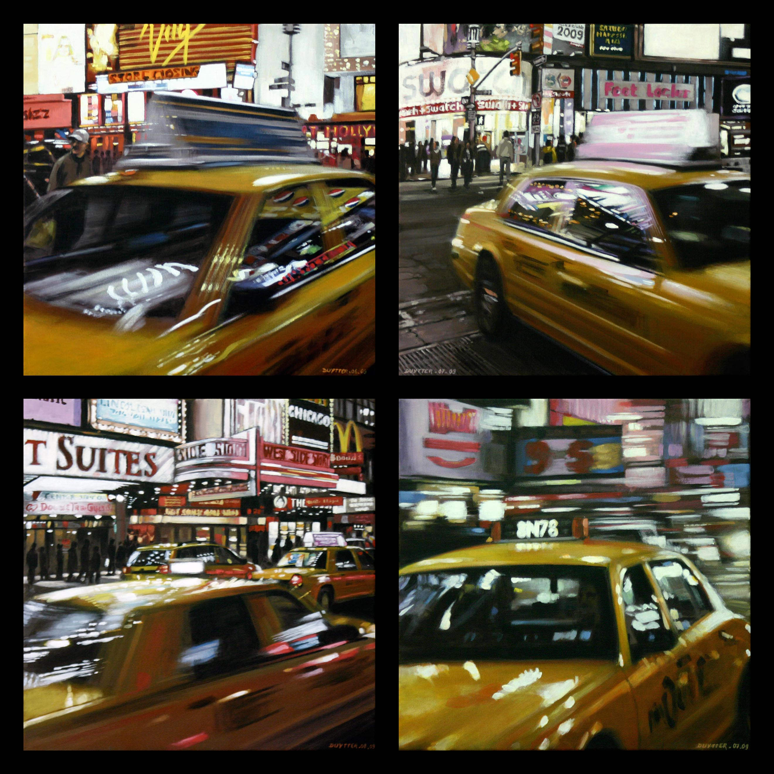 Speeding Yellow Cab - Vendu