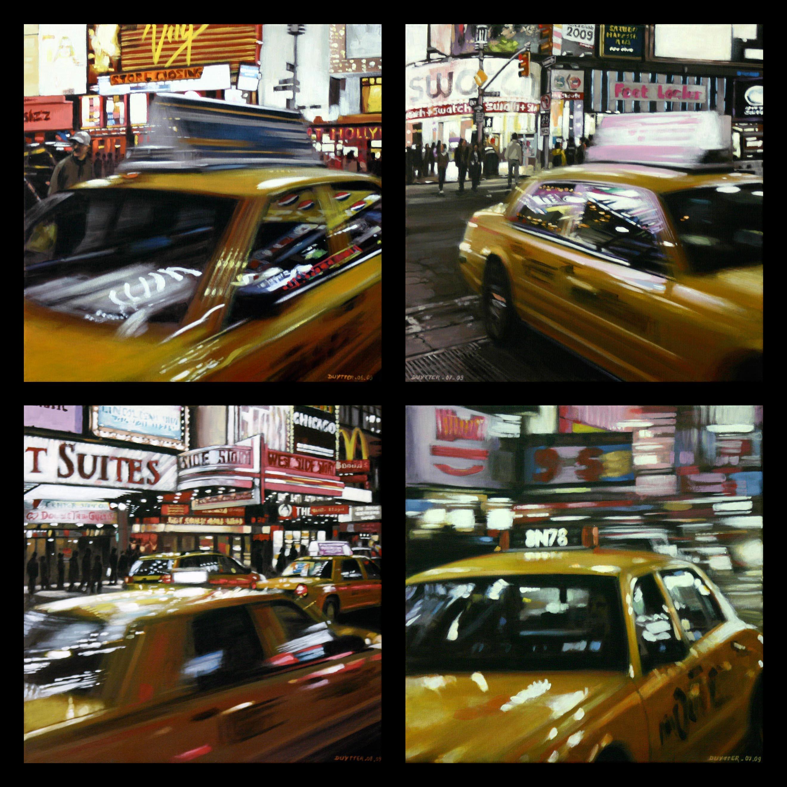 Speeding Yellow Cab - Vendu