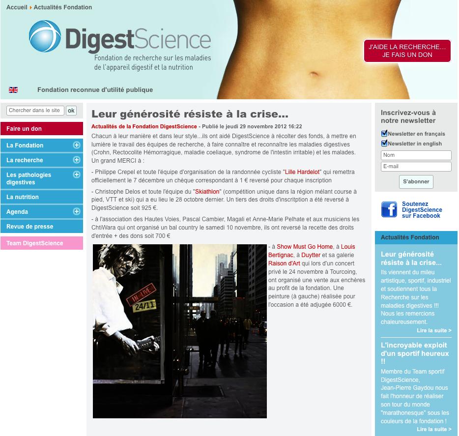 Digestscience Duytter Bertignac
