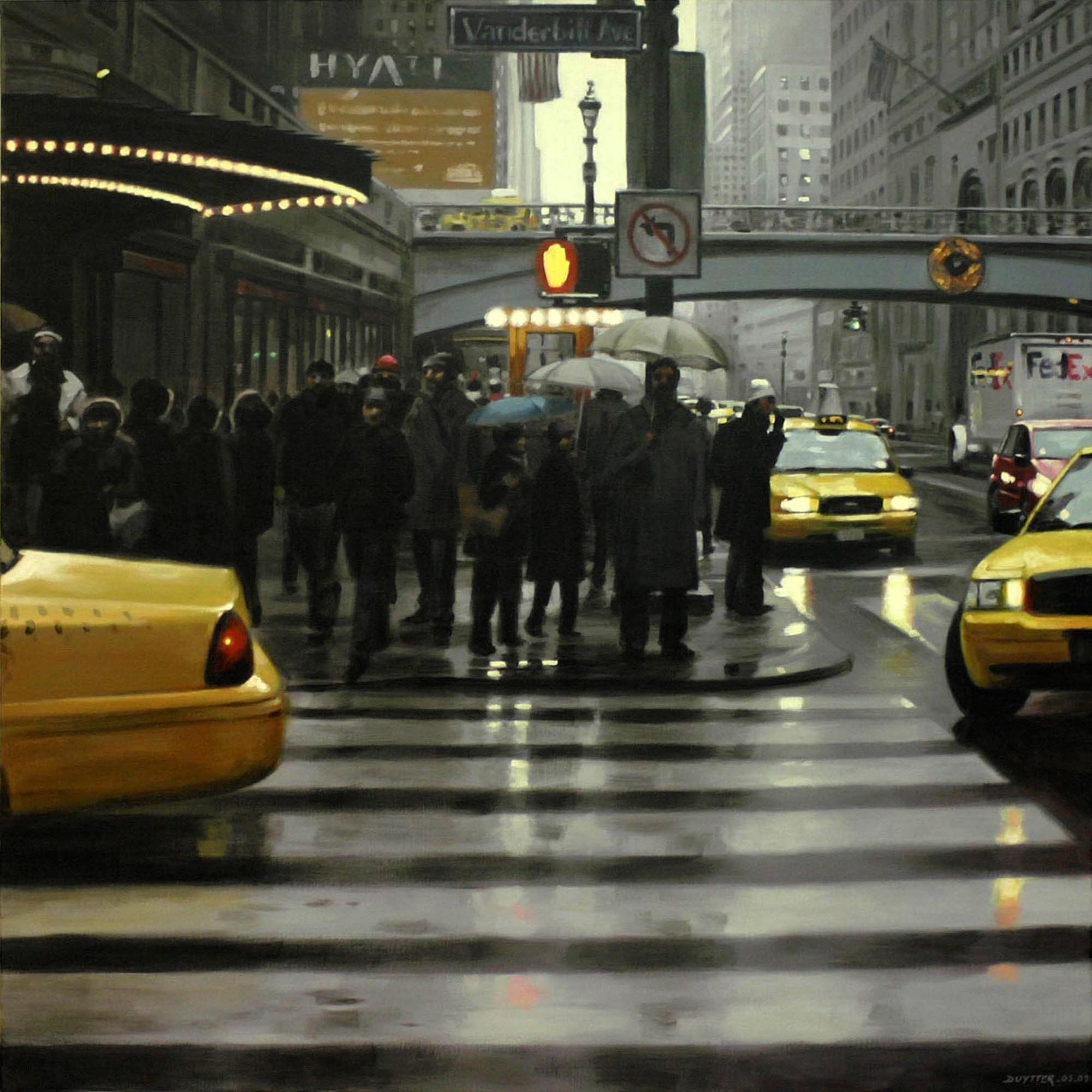 The Umbrellas of NYC - Vendu