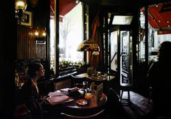 Pensive Girl, Cafe de Doelen Amsterdam