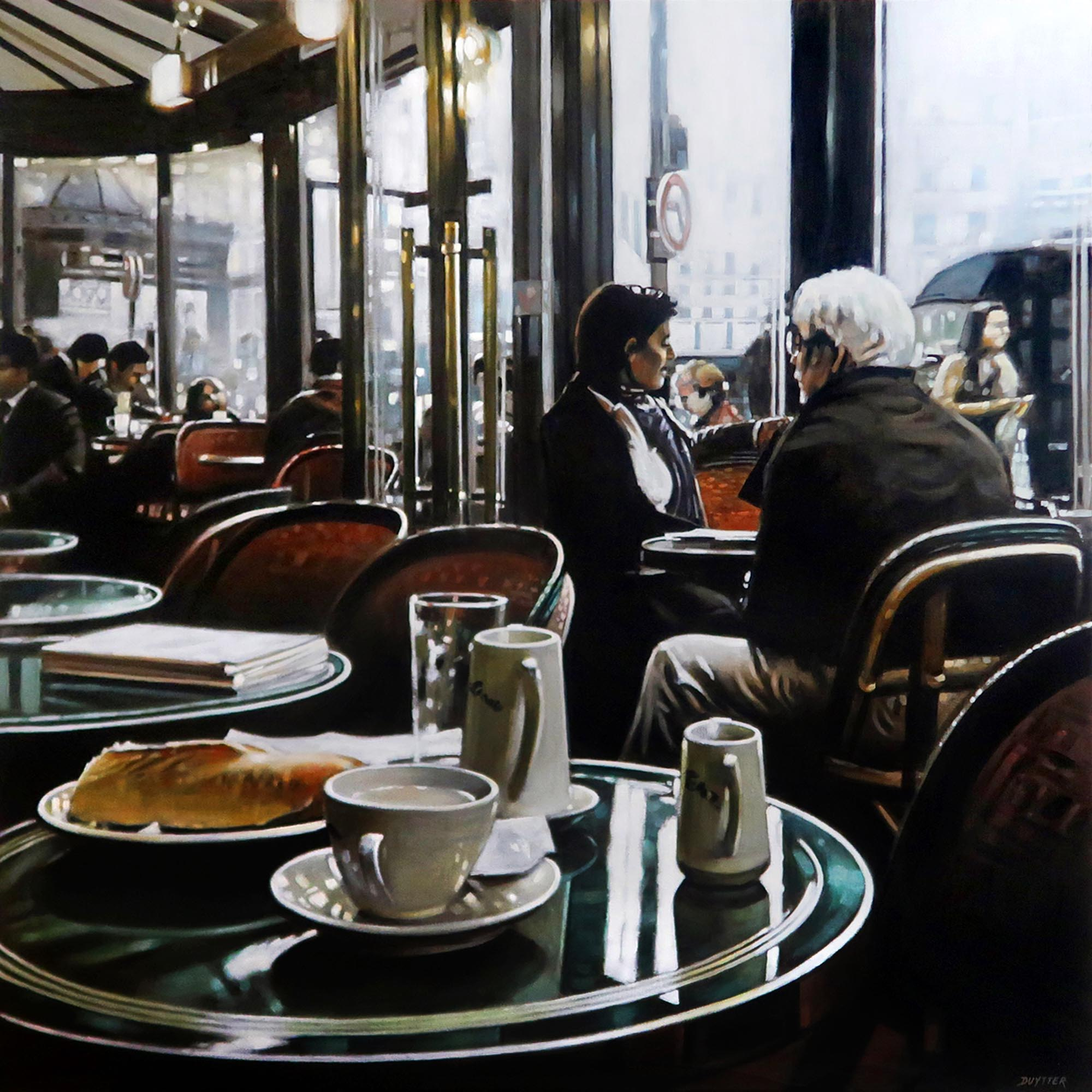 Waiting for Charlotte, café de Flore Par