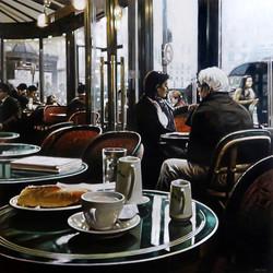 Waiting for Charlotte, café de Flore Paris