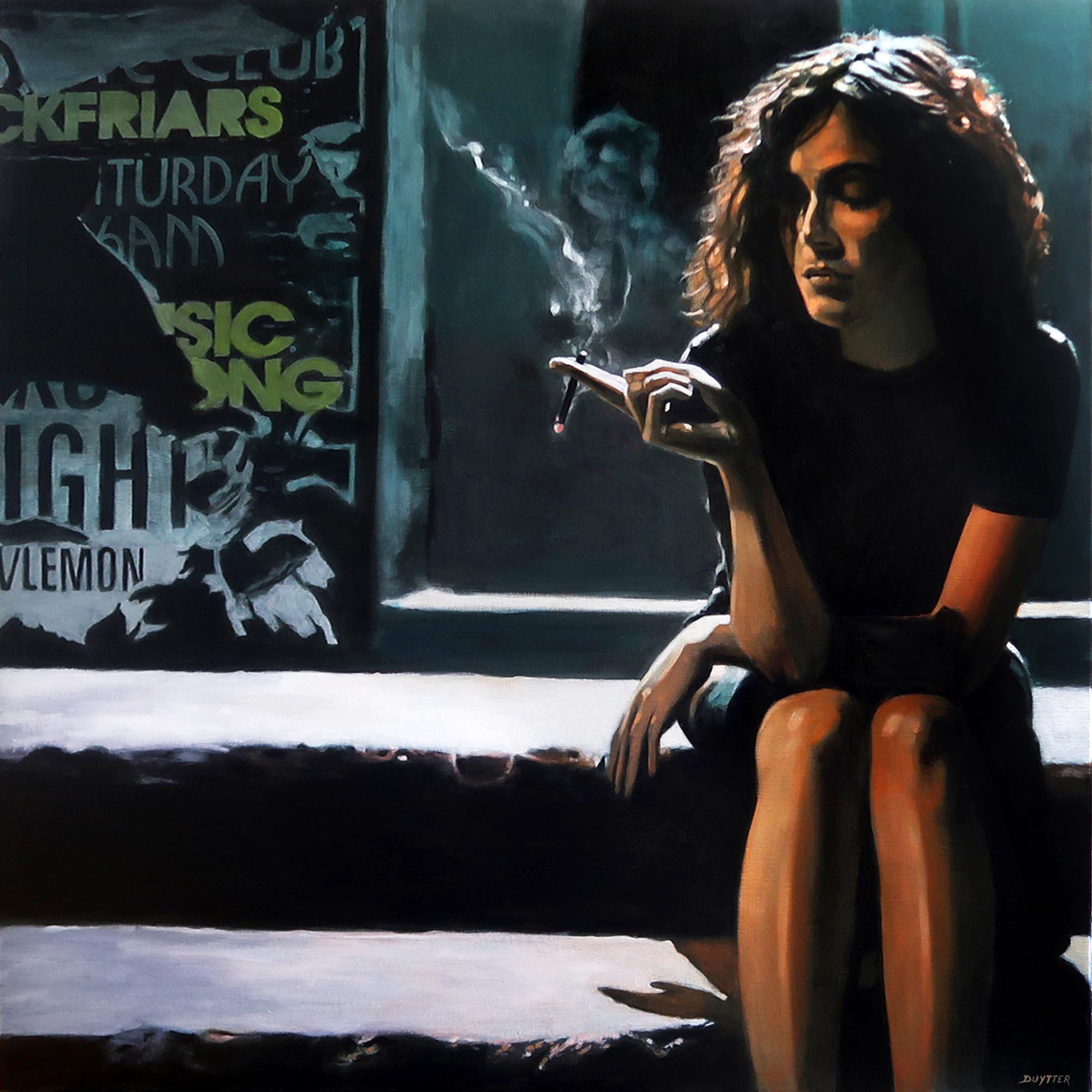 Woman, acrylique sur toile, 100/100cm