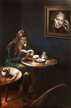 Hopkins - Acrylique sur toile - 146/97cm