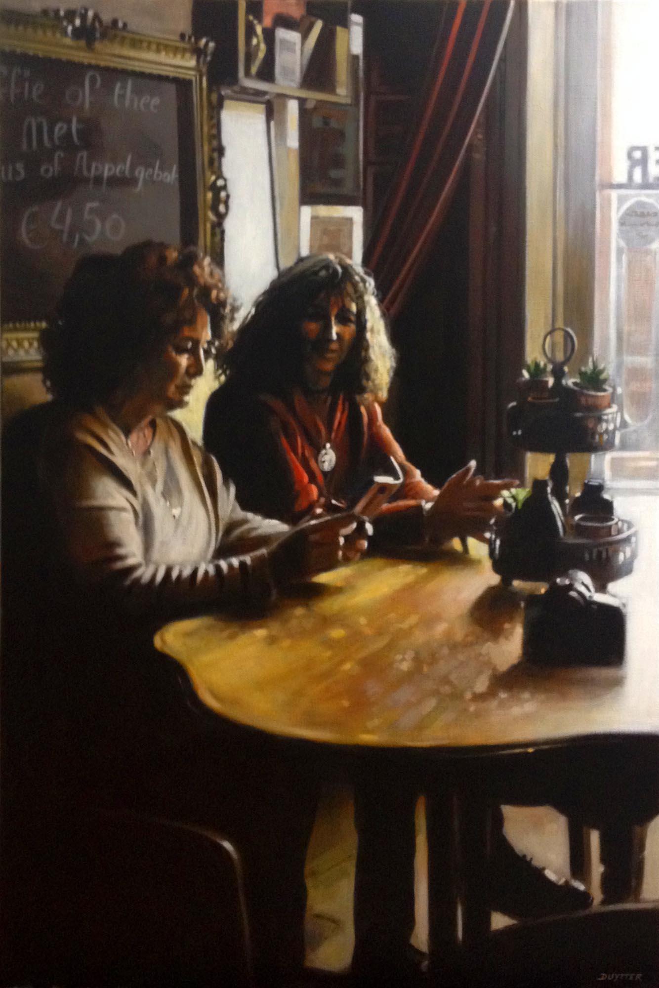 Nancy et Christelle