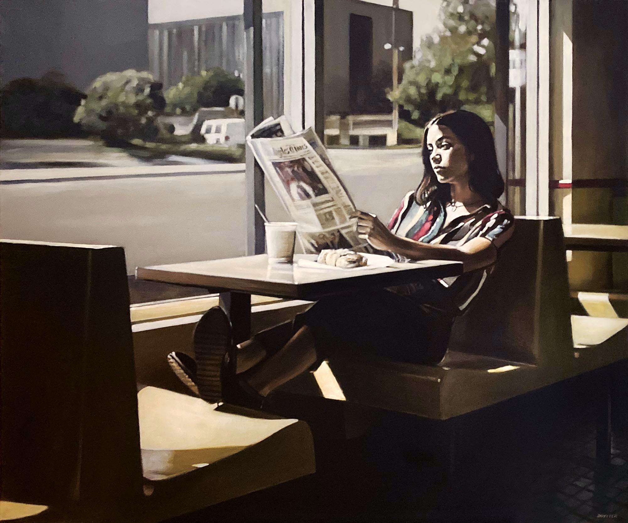 Taylor Lee, acrylique sur toile, 120/100