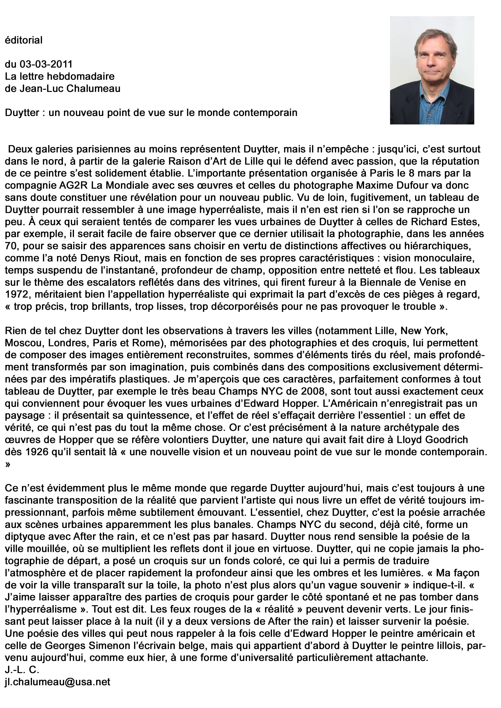 Article Jean-Luc Chalumeau - Duytter.jpg