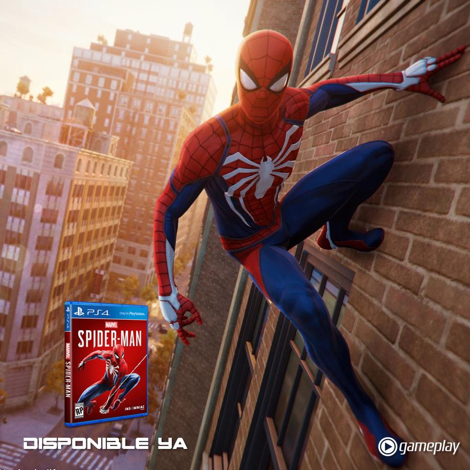 Spiderman ps4 estreno