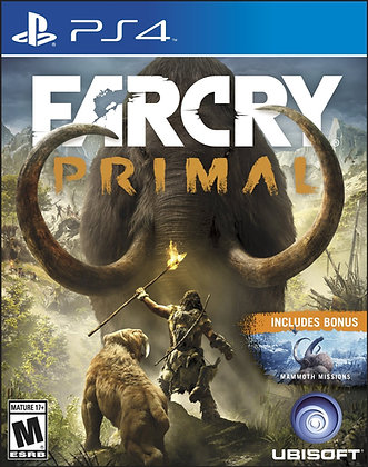 Far Cry Primal. PS4