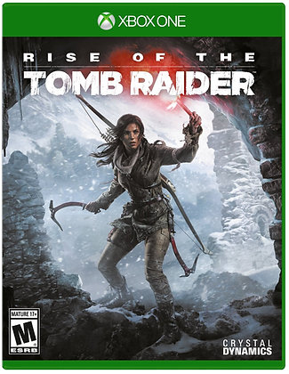 Rise of the Tomb Raider. Xbox One.
