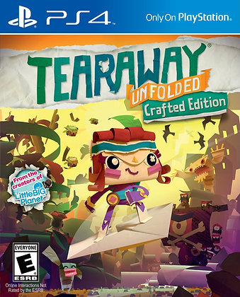 Tearaway Unfolded. PS4