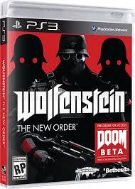 WOLFENSTEIN THE NEW ORDER. PS3