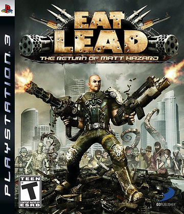 Eat Lead The Return of Matt Hazard. PS3