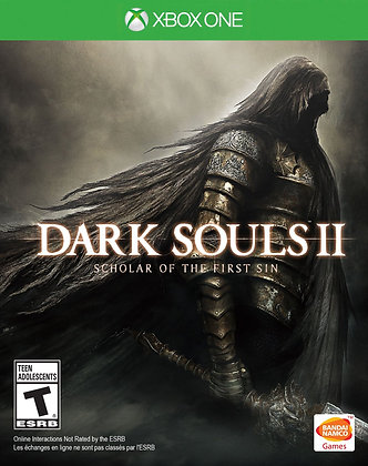 Dark Souls II Scholar of the First Sin. Xbox One