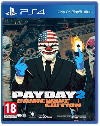 PayDay 2 Crimewave Edition. PS4