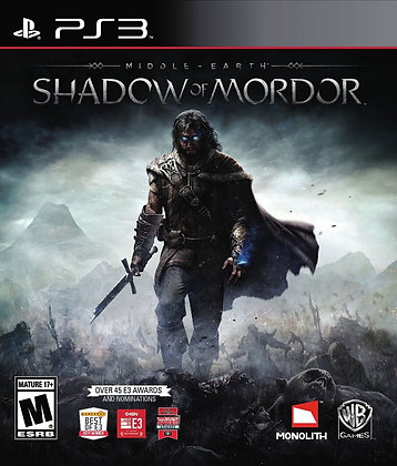 Middle-Earth Shadow of Mordor. PS3