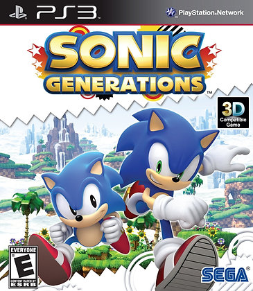 Sonic Generations. PS3