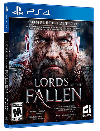 Lords of the Fallen Complete Edition. PS4