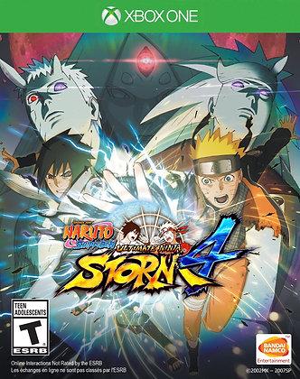 Naruto Shippuden Ulti. Ninja Storm 4 Xbox one.
