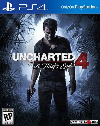 Uncharted 4 A Thief's End. PS4