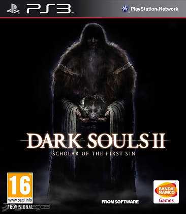 Dark Souls II Scholar of the First Sin. PS3