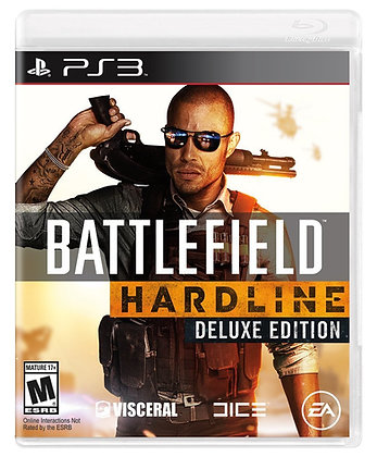 Battlefield Hardline Deluxe Edition. PS3