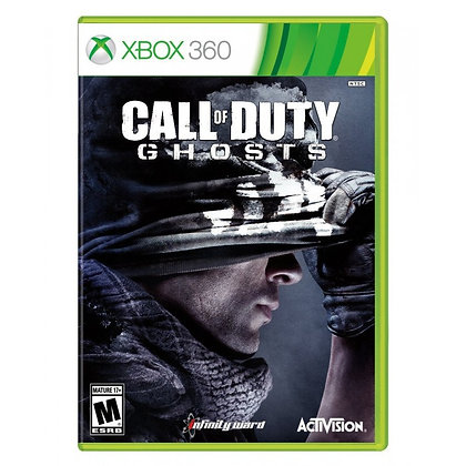 Call Of Duty Ghosts. Xbox 360