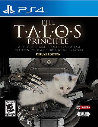 The Talos Principle Deluxe Edition. PS4