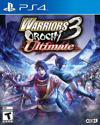 Warrior's Orochi 3 Ultimate. PS4