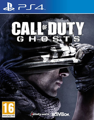Call Of Duty Ghosts. Ps4