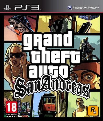 GTA San Andreas HD. PS3