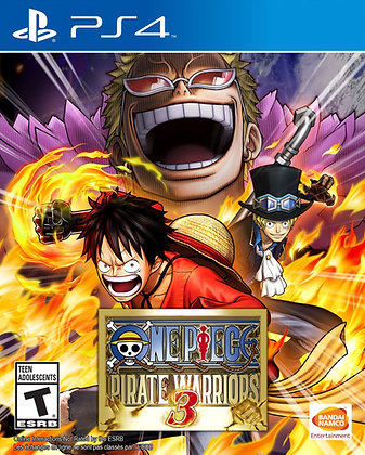 One Piece Pirate Warriors 3. PS4