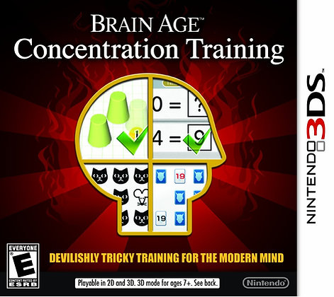 Brain Age  Concentration Training 3DS